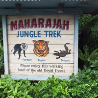 Photo taken at Maharajah Jungle Trek by Bill C. on 8/6/2018