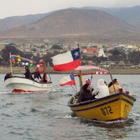 Photo taken at Puerto huasco by Sebastian M. on 7/5/2015