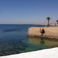 Photo taken at Cimetière marin de Mahdia by Hadj I. on 5/11/2013