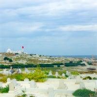 Photo taken at Cimetière marin de Mahdia by Hadj I. on 5/31/2014