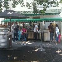 Photo taken at Taco Fish La Paz by Alejandro R. on 5/4/2013
