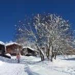 Das Foto wurde bei Bellwald - Ihr Schweizer Ferienort von Thorsten G. am 2/20/2013 aufgenommen