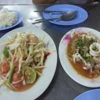 Photo taken at ร้านลาบหนองบัว by Hi J. on 5/24/2013