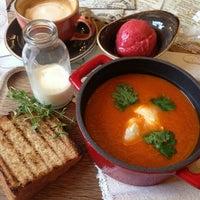 Photo taken at Restaurant Farm by Olesya D. on 10/23/2015