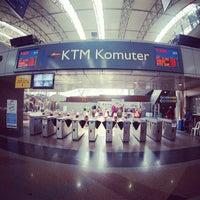 Photo taken at KTM Komuter KL Sentral (KA01) Station by sandwiz on 7/28/2013