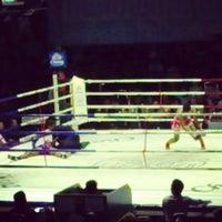 Photo taken at Lumpinee Boxing Stadium by sandwiz on 3/15/2013