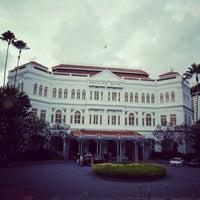 Photo taken at Raffles Hotel by sandwiz on 2/28/2013