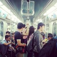 Photo taken at LRT 1 (Quirino Station) by sandwiz on 11/6/2013