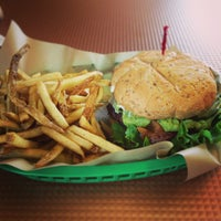 Photo taken at Fresh Grill Burgers & Fries by Christie P. on 3/11/2013