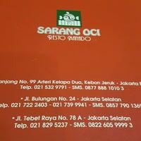Foto tomada en Sarang Oci por fu t. el 3/7/2017