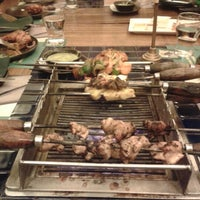Photo taken at Barbeque Nation by Purna G. on 1/16/2013