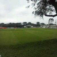 Photo taken at Centro de Treinamento do Caju by Hellen S. on 5/28/2013