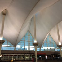Photo taken at Denver International Airport (DEN) by Esen A. on 10/22/2013