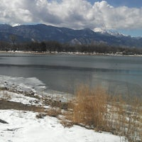 Photo taken at Prospect Lake by Kimberly E. on 2/27/2013