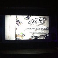 Photo taken at Kino Tuškanac by Batinica on 6/30/2013