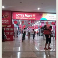 Photo taken at LotteMart by Yopie S. on 2/16/2013