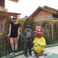Photo taken at Mini Golf by Lester H. on 4/13/2015