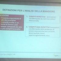 Photo taken at centro di formazione Cgil Milano by Roberto D. on 10/15/2013