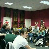 Photo taken at Newcastle University Students' Union by Lily N. on 11/10/2016