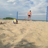 Photo taken at Пляж 6 мкр by Олечка Н. on 7/7/2013
