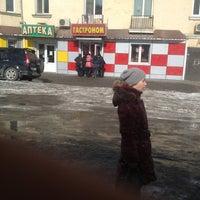Photo taken at ост. Школьная by Валентин К. on 2/13/2013