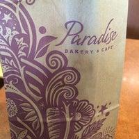 Photo taken at Paradise Bakery & Cafe by Karina R. on 3/14/2014