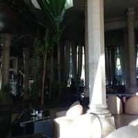 Photo taken at Le Palais Rhoul by Jose B. on 12/28/2012