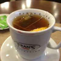 Photo taken at Fran's Café by Thaysa T. on 1/22/2013