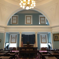 Photo taken at NC Capitol Old Senate Chamber by Emily M. on 3/17/2018