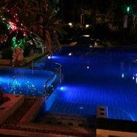 Photo taken at Thai Pura Resort by James O. on 2/14/2013