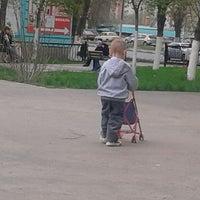 Photo taken at Сквер Имени Калинина by Наталья С. on 5/2/2014