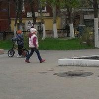 Photo taken at Сквер Имени Калинина by Наталья С. on 5/1/2014