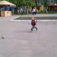 Photo taken at Сквер Имени Калинина by Наталья С. on 5/11/2014