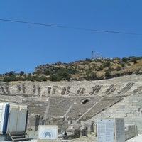 7/29/2013 tarihinde Sena Yaren S.ziyaretçi tarafından Antik Tiyatro'de çekilen fotoğraf