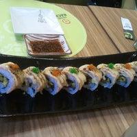 Photo taken at Sushi Kachi by Felix M. on 4/6/2013