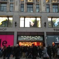 Photo taken at Topshop by Sarah K. on 12/31/2012