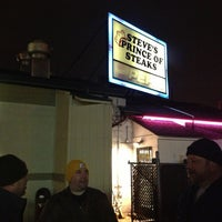 Photo taken at Steve's Prince of Steaks by Eric T. on 2/23/2013