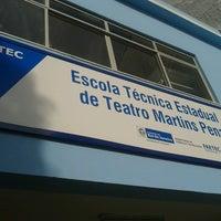 Photo taken at Escola Estadual de Teatro Martins Pena by João Paulo N. on 2/27/2013
