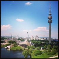Photo taken at Olympiapark by Marcel F. on 7/13/2013