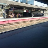 Photo taken at Lower Parel Railway Station by Sushant D. on 12/26/2012