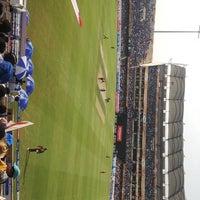 Photo taken at Rajiv Gandhi Cricket Stadium by A K. on 5/1/2013