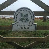 Photo taken at Rhossili by Rita B. on 12/18/2014