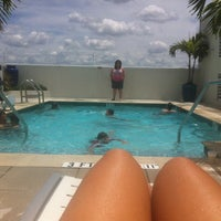 Photo taken at Hotel Indigo: Rooftop Pool by enithhernandez.net on 5/26/2013