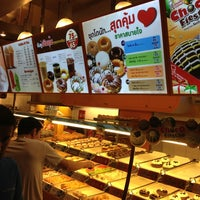 Photo taken at Mister Donut by CaMiLL3 on 12/29/2012
