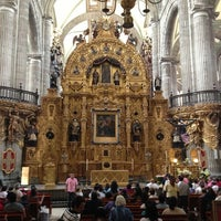 Photo taken at Catedral Metropolitana de la Asunción de María by Argelia P. on 3/28/2013