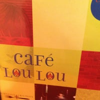 Photo taken at Cafe Lou Lou by Miguel P. on 4/26/2013