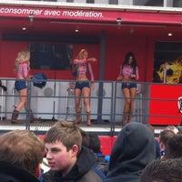 Photo taken at Jupiler stand fcb by Lorenzo d. on 4/1/2013