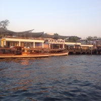 Photo taken at Wat Mahathat Pier by Ous M. on 2/3/2015