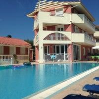 Photo taken at Hotel Pantheon Tsilivi Zakynthos by Annmarie H. on 9/7/2013