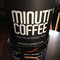 Photo taken at Minuti Coffee by Hideo H. on 12/26/2012